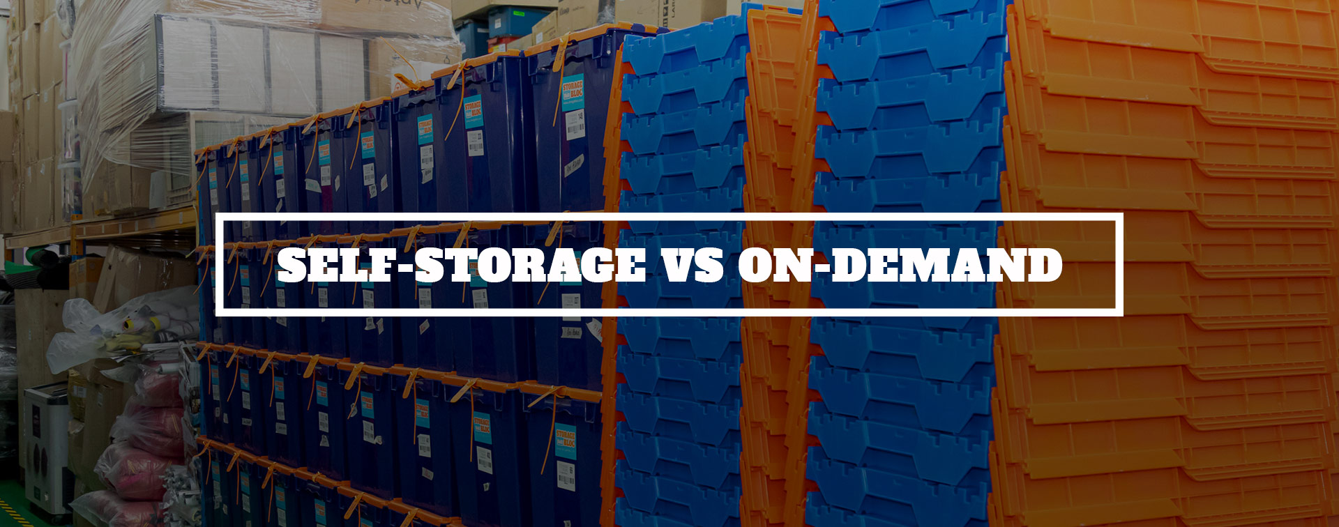 Self Storage Vs On Demand Extra Space