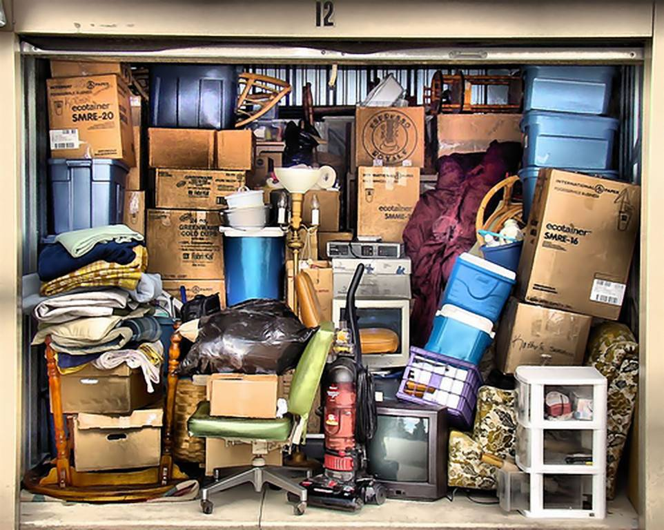 Messy Storage Locker